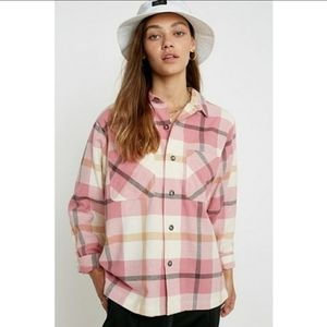 Urban Outfitters Dustin Flannel Button Dow…